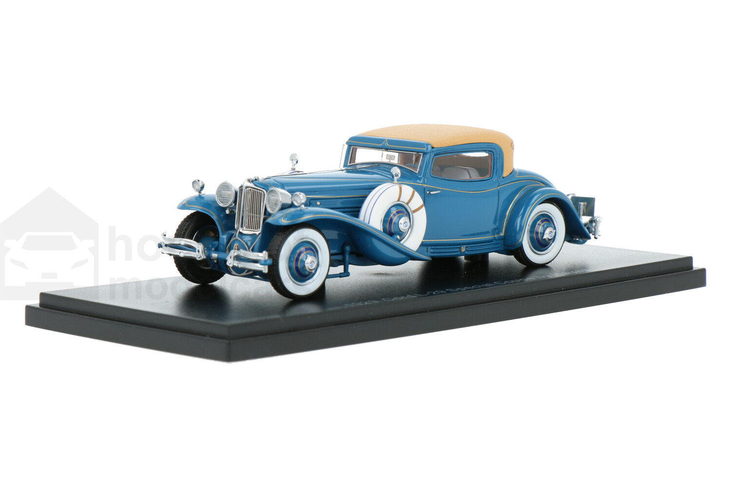 Cord L-29 Coupe By the Hayes Body - Modelauto schaal 1:43