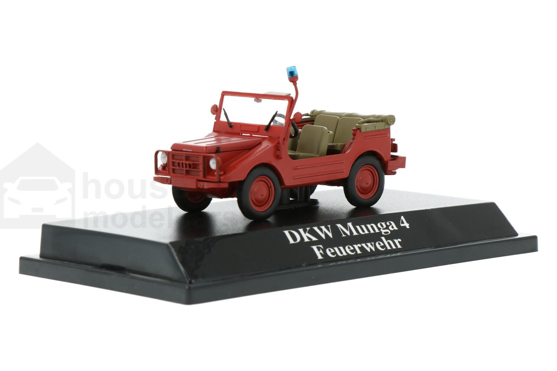DKW Munga 4 - Modelauto schaal 1:43