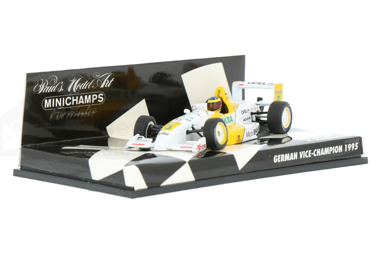 Dallara F395 - Modelauto schaal 1:43