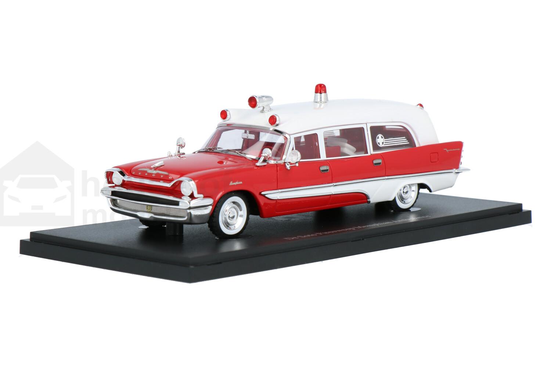 De Soto Firesweep Memphian Ambulance  - Modelauto schaal 1:43