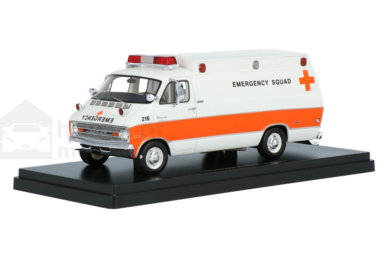 Dodge Horton (Hochdach) - Modelauto schaal 1:43