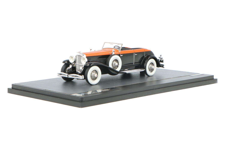 Duesenberg Model J Riviera Phaeton by Brunn - Modelauto schaal 1:43