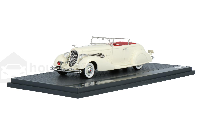 Duesenberg Convertible Sedan Bohman & Schwartz SJ 544-2570 - Modelauto schaal 1:43