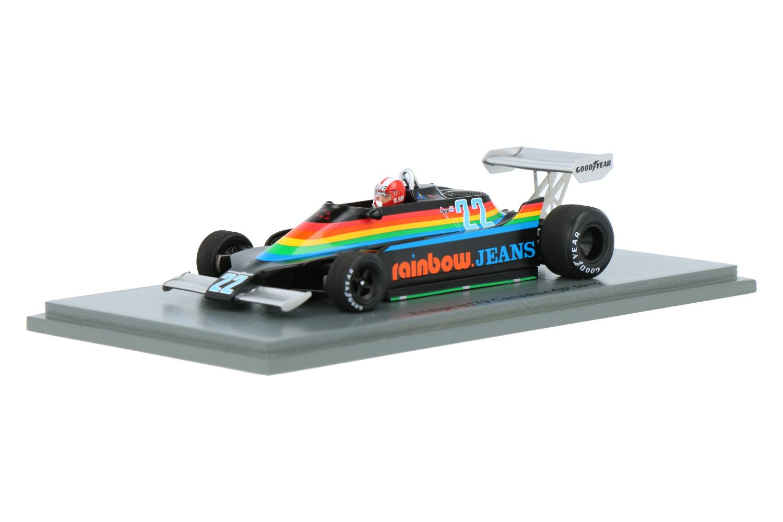 Ensign N179 - Modelauto schaal 1:43