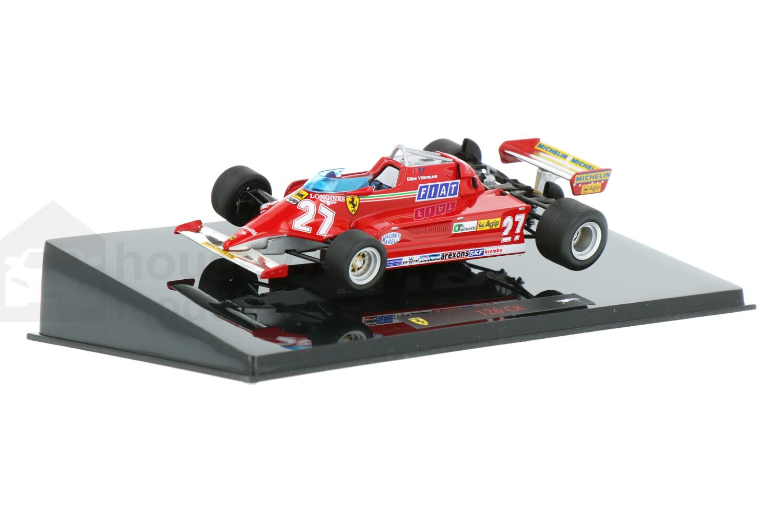 Ferrari 126 CK - Modelauto schaal 1:43