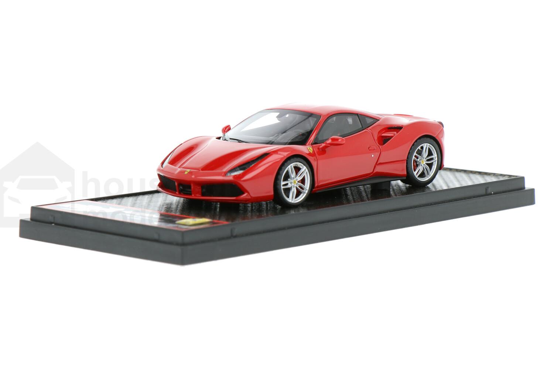Ferrari 488 GTB - Modelauto schaal 1:43