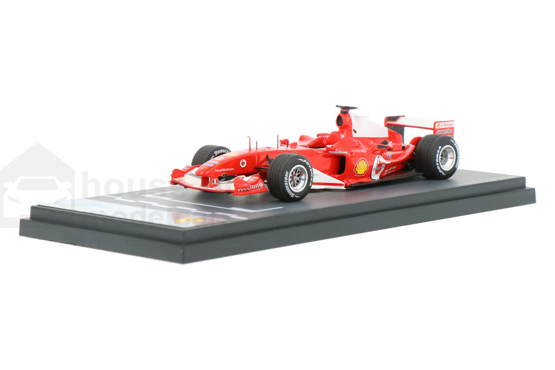 Ferrari F2004 - Modelauto schaal 1:43