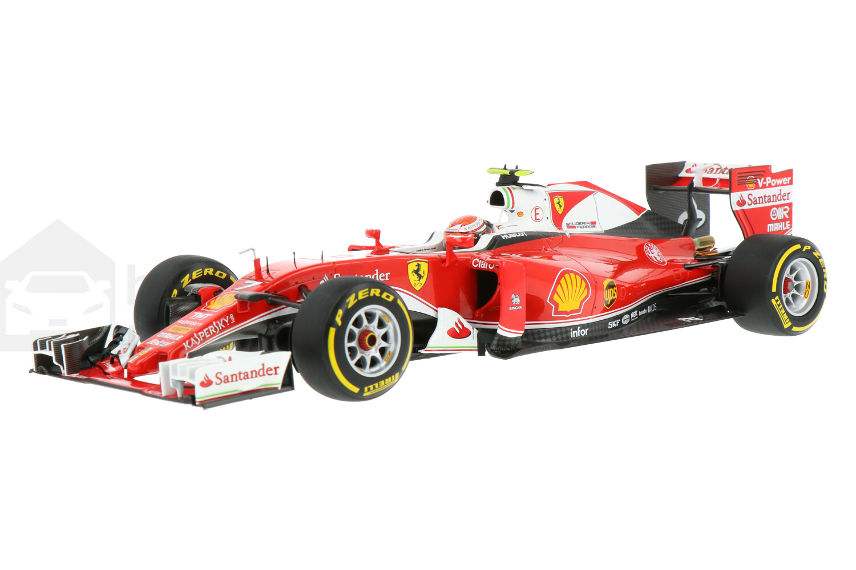 Ferrari SF16-H - Modelauto schaal 1:18