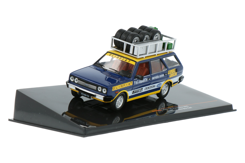 Fiat 131 Panorama (Assistenza team Olio Fiat) - Modelauto schaal 1:43
