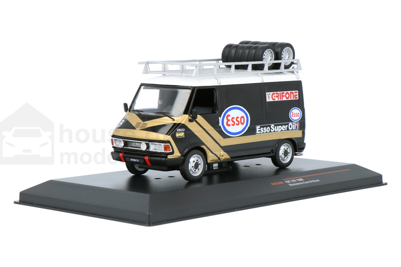 Fiat 242 Assistenza Esso Grifone - Modelauto schaal 1:43