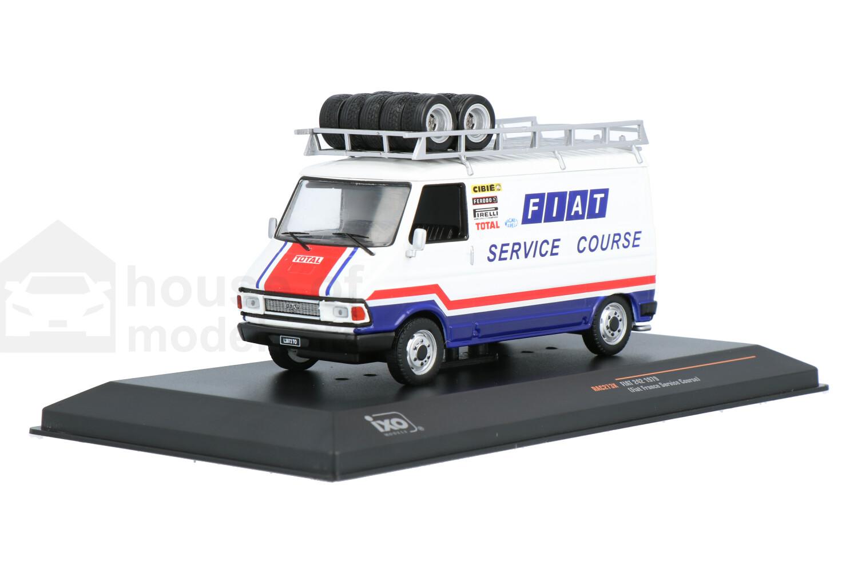 Fiat 242 (Fiat France Service Course) - Modelauto schaal 1:43