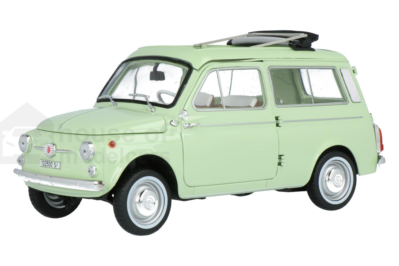 Fiat 500 Giardiniera - Modelauto schaal 1:18