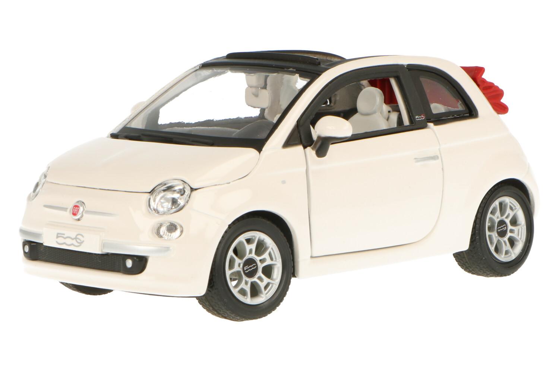 Fiat 500 CC Cabriolet  - Modelauto schaal 1:24