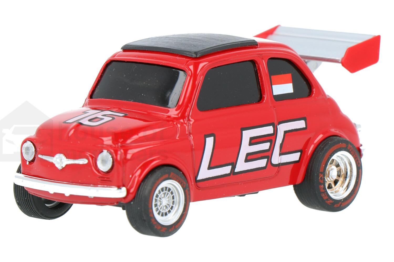 Fiat 500 (Charles Leclerc) - Modelauto schaal 1:43