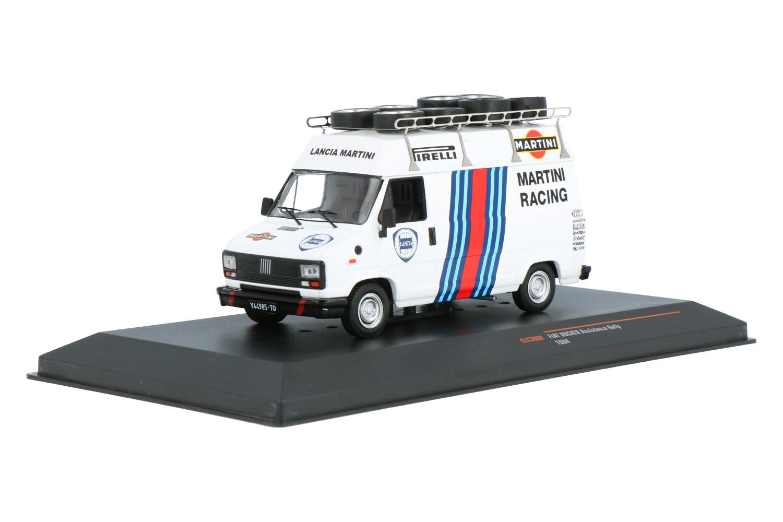 Fiat Ducato Assistenza Rally - Modelauto schaal 1:43
