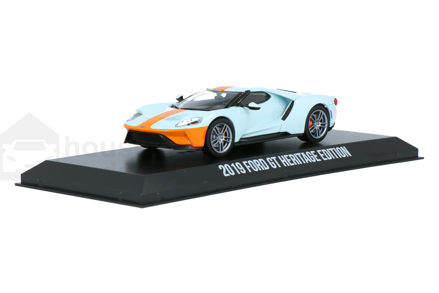 Ford GT Heritage Edition - Modelauto schaal 1:43