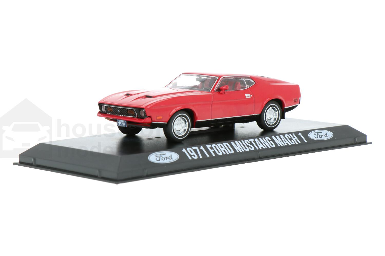 Ford Mustang Mach 1 - Modelauto schaal 1:43