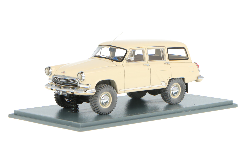 GAZ Volga M22 modification 4x4 - Modelauto schaal 1:43