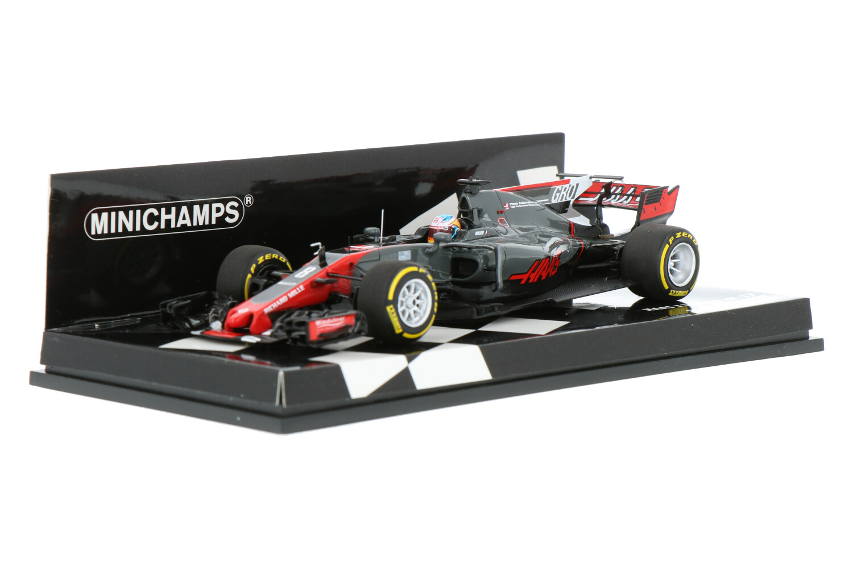 Haas F1 VF-17 - Modelauto schaal 1:43