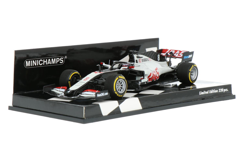 Haas F1 VF-20 - Modelauto schaal 1:43