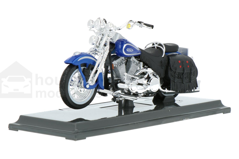 Harley Davidson FLSTS Heritage Softail Springer - Modelauto schaal 1:18