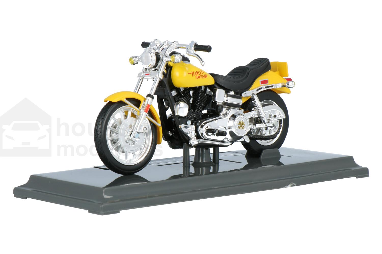 Harley Davidson FXS Low Rider - Modelauto schaal 1:18