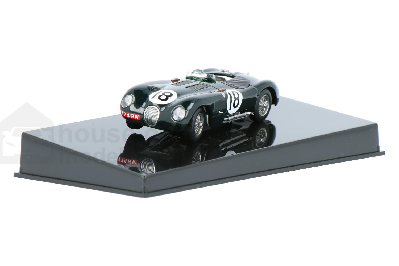 Jaguar C-Type - Modelauto schaal 1:43