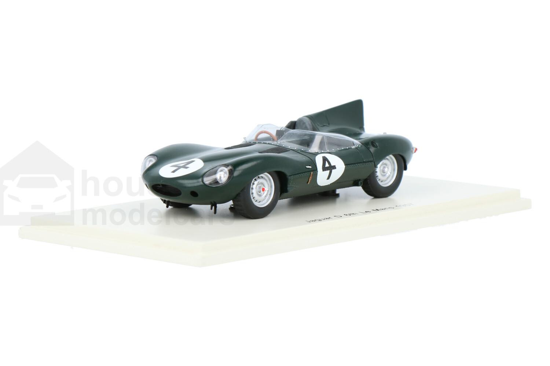 Jaguar D-Type - Modelauto schaal 1:43