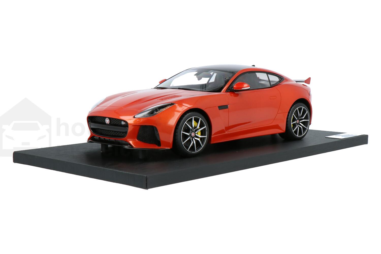 Jaguar F-Type SVR Coupé - Modelauto schaal 1:18