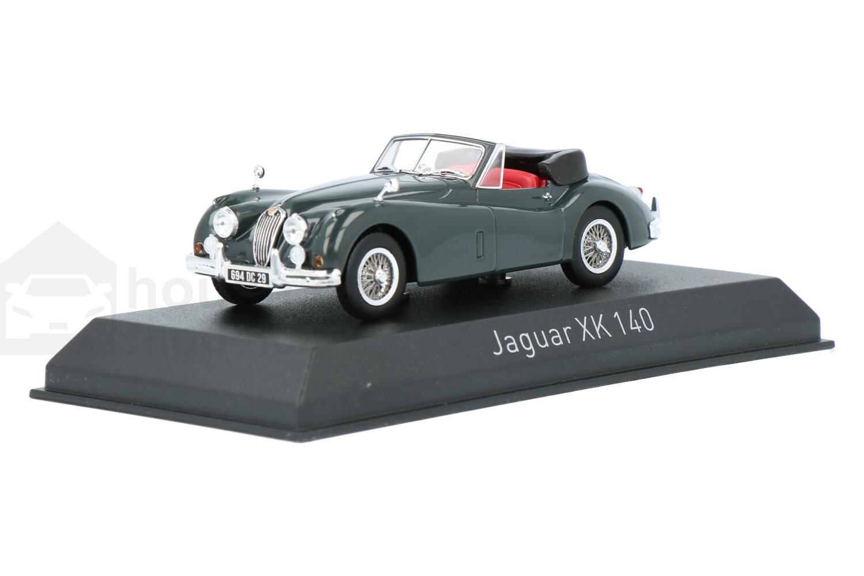 Jaguar XK 140 Cabriolet - Modelauto schaal 1:43
