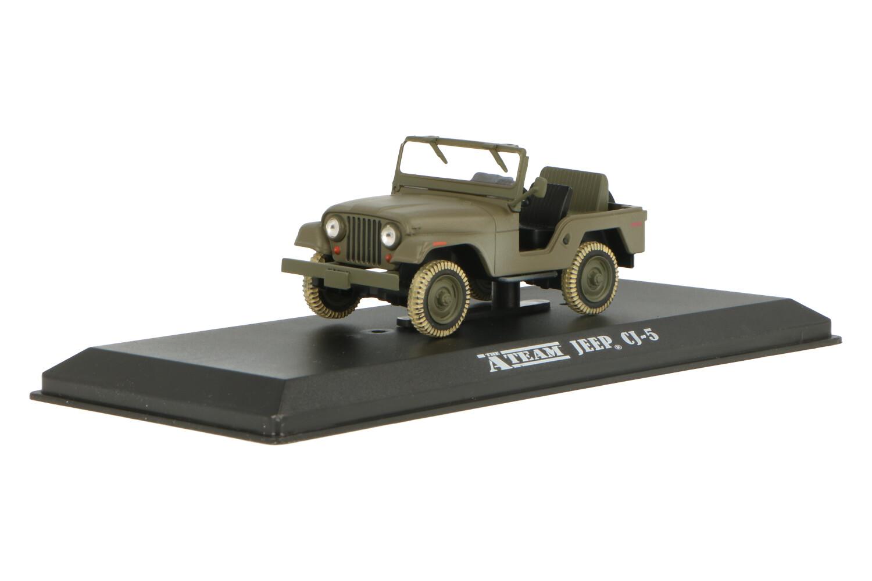 Jeep CJ-5 - Modelauto schaal 1:43