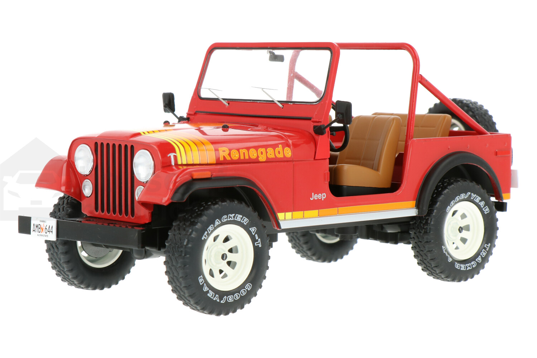 Jeep CJ-7 Renegade - Modelauto schaal 1:18