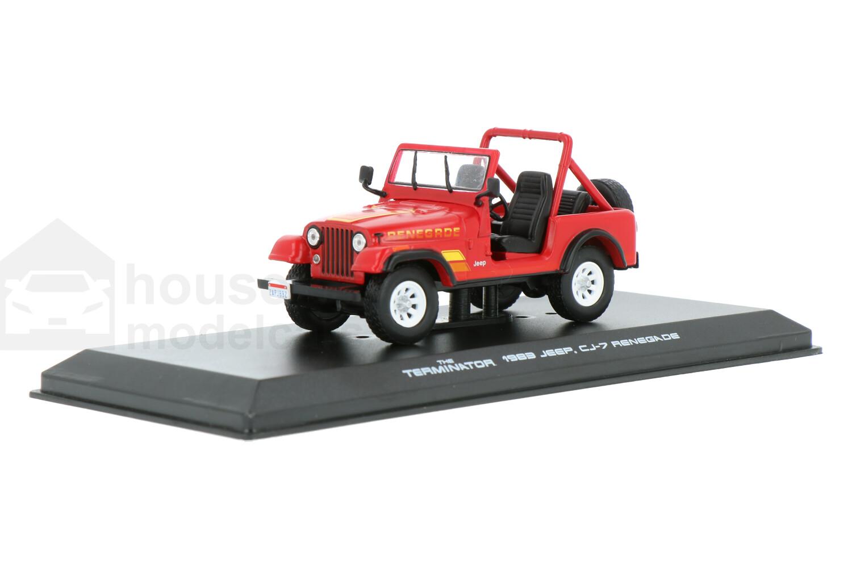 Jeep CJ-7 Renegade - Modelauto schaal 1:43