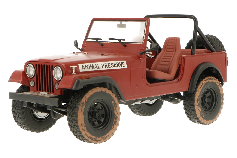 Jeep CJ-7 - Modelauto schaal 1:18