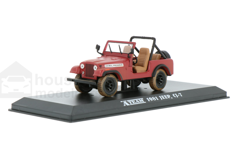 Jeep CJ-7 - Modelauto schaal 1:43