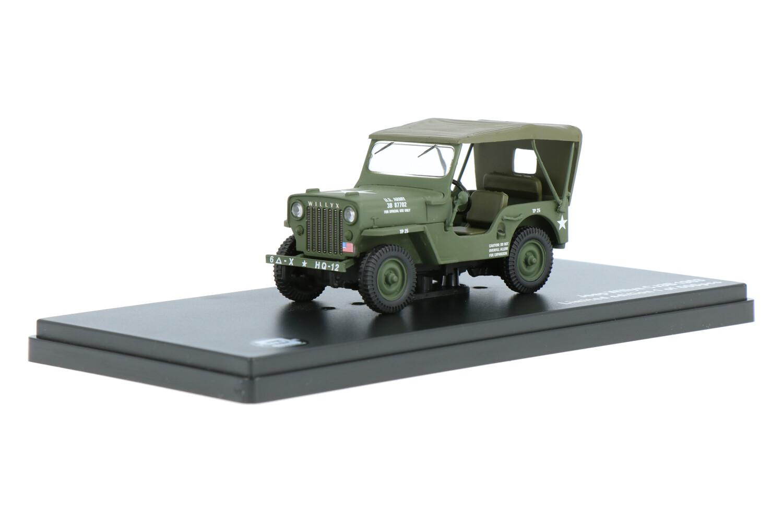 Jeep Willys CJ3B US Army - Modelauto schaal 1:43
