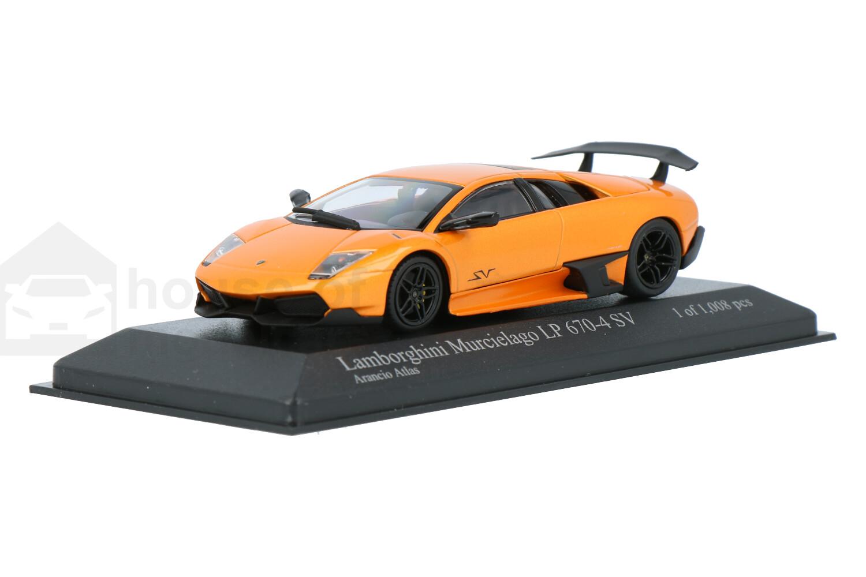 Lamborghini Murcielago LP 670-4 SV - Modelauto schaal 1:43