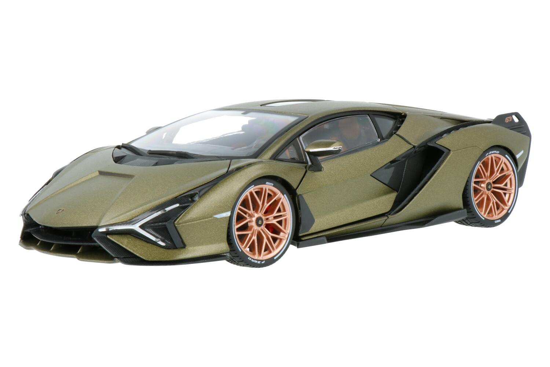 Lamborghini Sian FKP 37 - Modelauto schaal 1:18