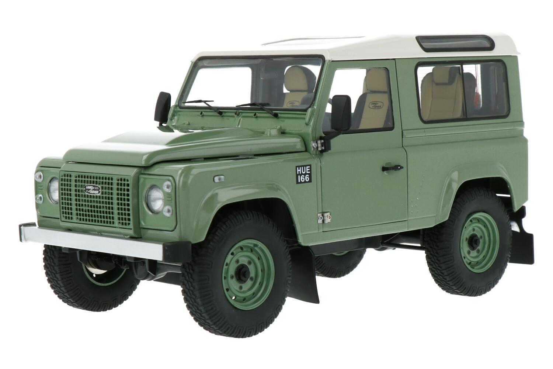 Land Rover Defender 90 Heritage - Modelauto schaal 1:18