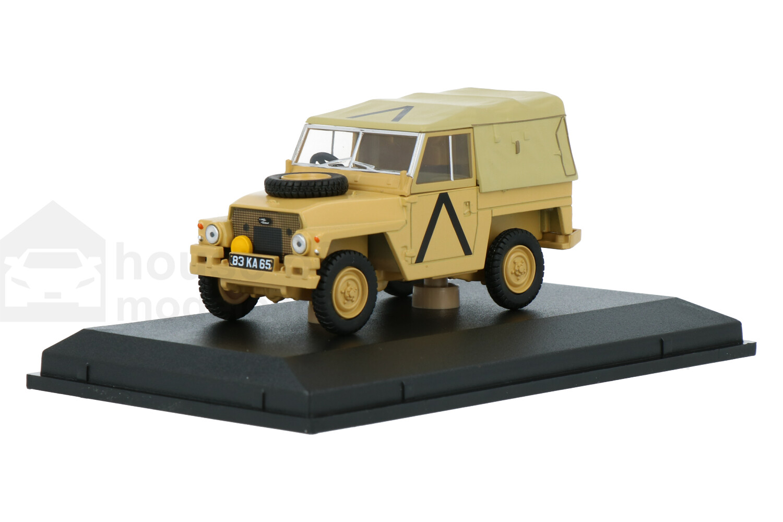 Land Rover Lightweight Gulfwar - Modelauto schaal 1:43