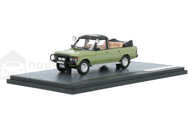 Land Rover Range Rover Rometsch Hunting Car Honecker - Modelauto schaal 1:43