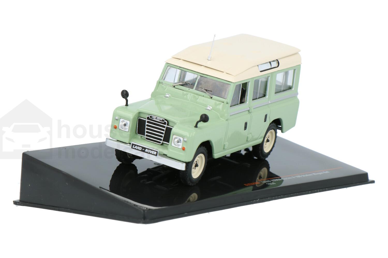 Land Rover Series II 109 Stationwagon 4X4 - Modelauto schaal 1:43