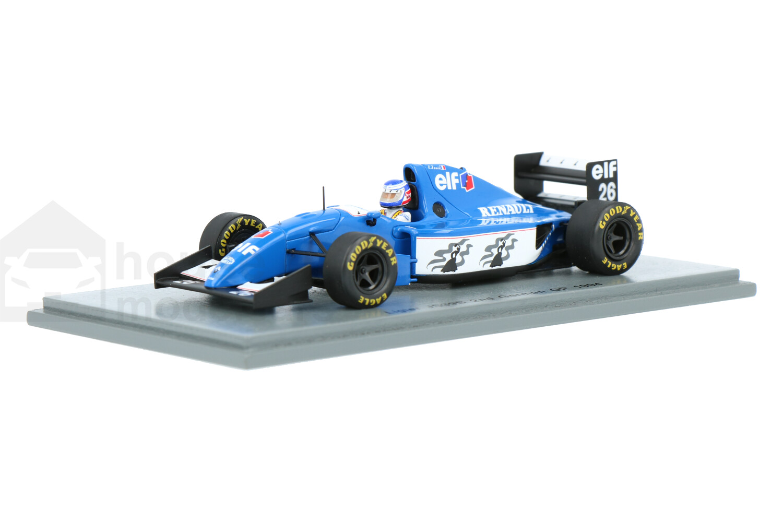 Ligier JS39B Renault - Modelauto schaal 1:43
