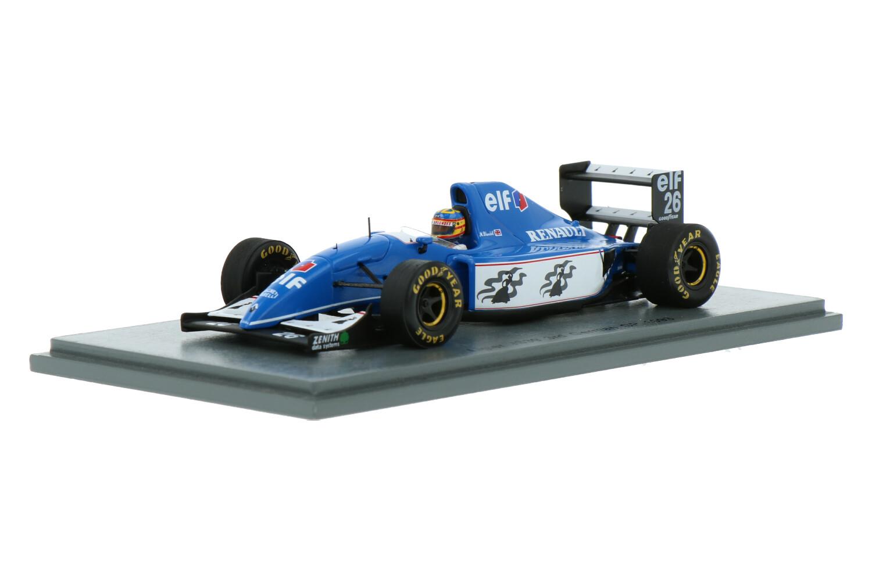Ligier JS39 - Modelauto schaal 1:43