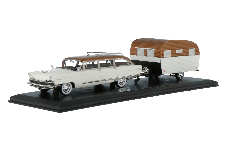 Lincoln Pioneer SW + Aero trailer - Modelauto schaal 1:43