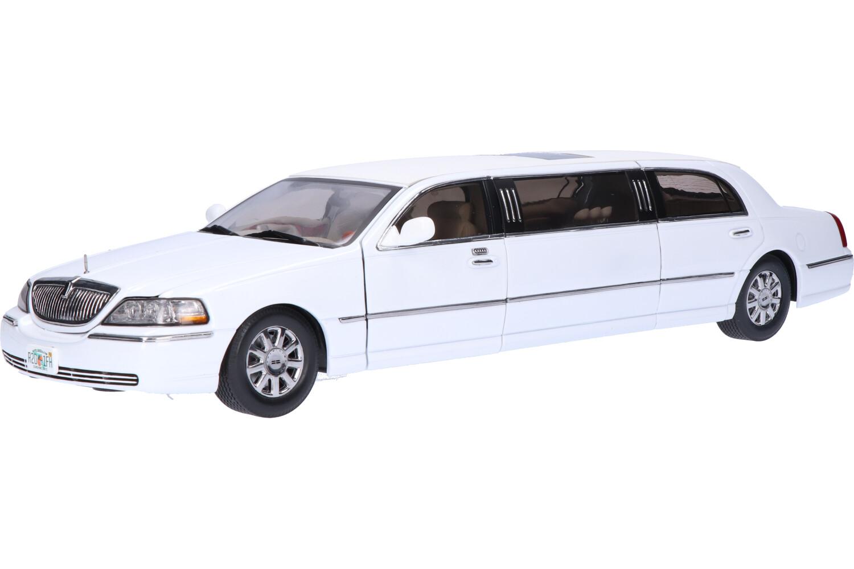 Lincoln Town Car Limousine - Modelauto schaal 1:18