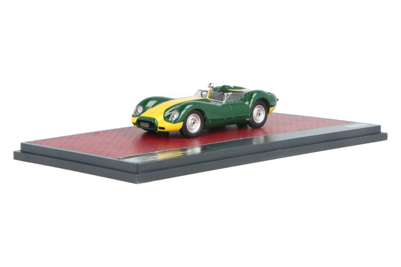 Lister Jaguar - Modelauto schaal 1:43
