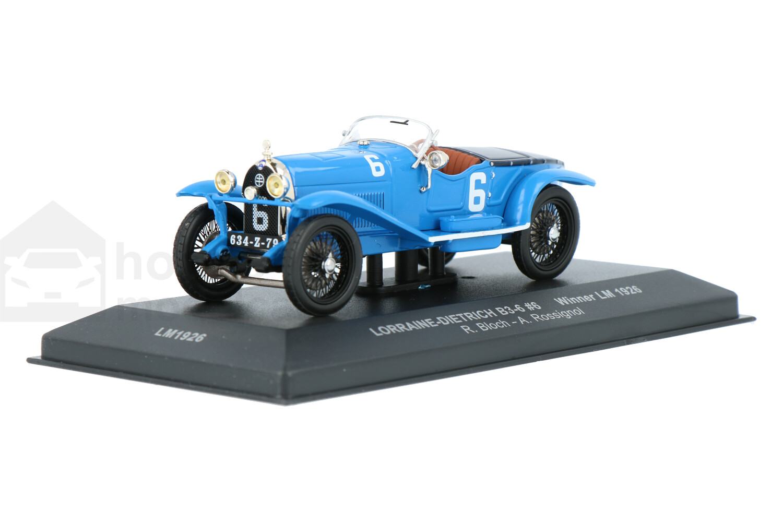 Lorraine-Dietrich B3-6 Le Mans - Modelauto schaal 1:43