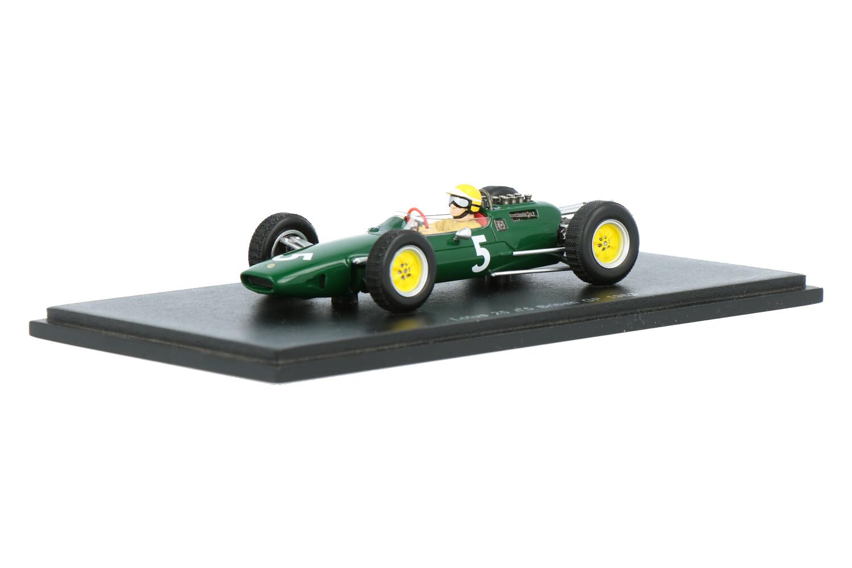 Lotus 25 - Modelauto schaal 1:43
