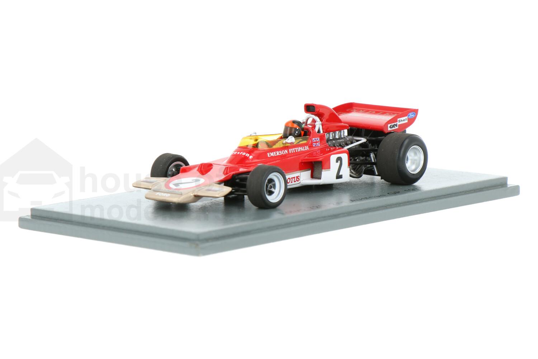 Lotus 72D - Modelauto schaal 1:43
